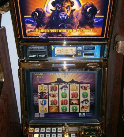 Aristrocrat BUFFALO video slot vegas slot machine for sale