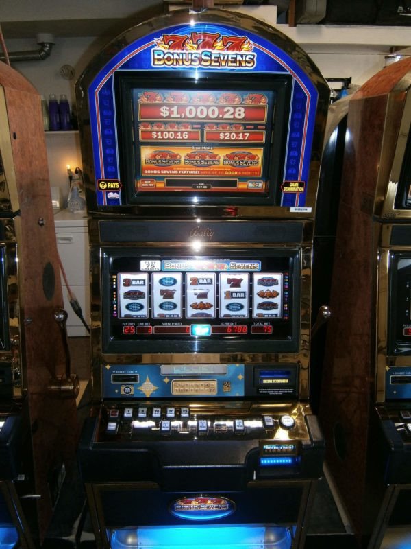 Bonus 7 Bally Alpha 9000 vegas slot machine for sale