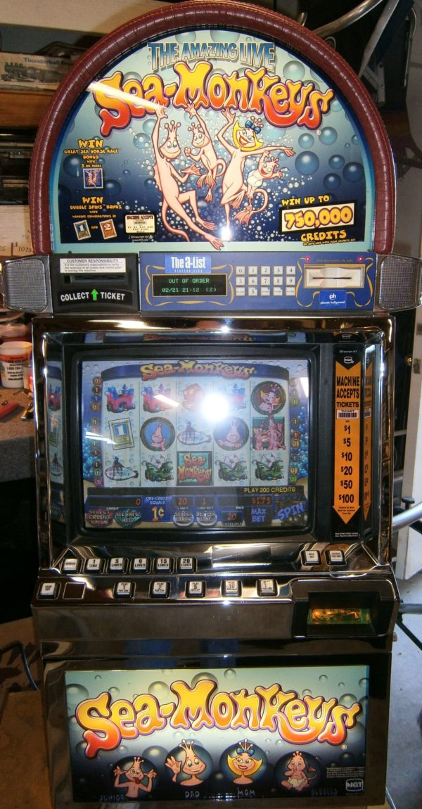 IGT Sea Monkeys Igame vegas slot machine for sale