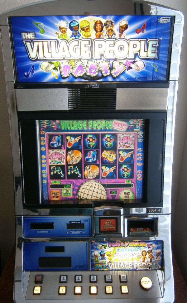 Williams Village People Party vegas slot machine for sale