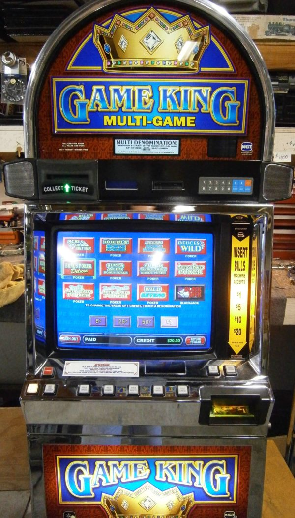 IGT GAME KING vegas slot machine for sale