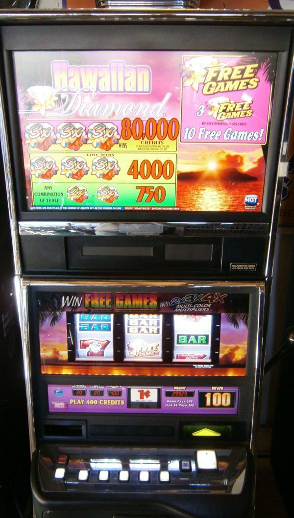 IGT AVP Hawaiian Diamond vegas slot machine for sale
