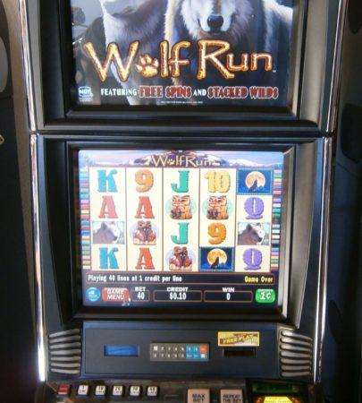 IGT AVP Wolf Run vegas slot machine for sale