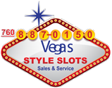 Vegas Style Slots  | Slot Machines for Sale