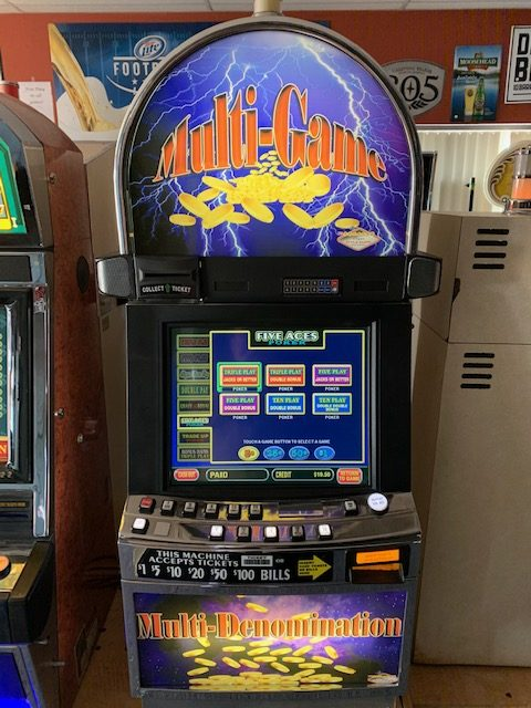 IGT, Ultimate X poker slot machine for sale
