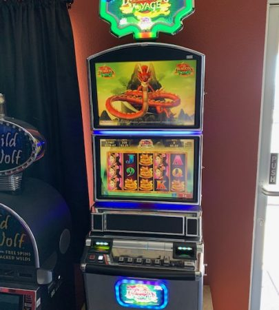 Konami- Dragons Voyage vegas slot machine for sale