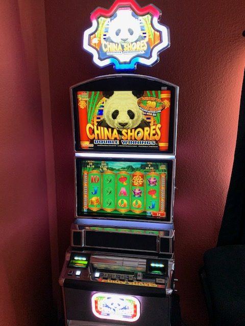 Konami- China Shores Double Winnings vegas slot machine for sale