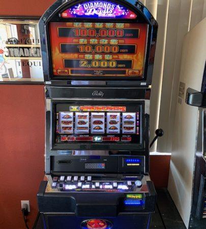 Bally Diamonds Devil Deluxe vegas slot machine for sale